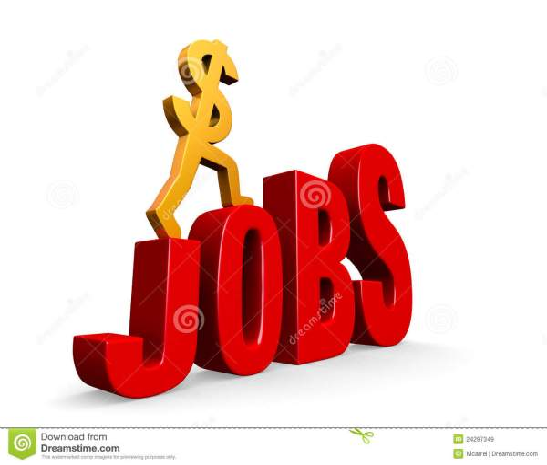 Job Growth Royalty Free Stock - 24297349