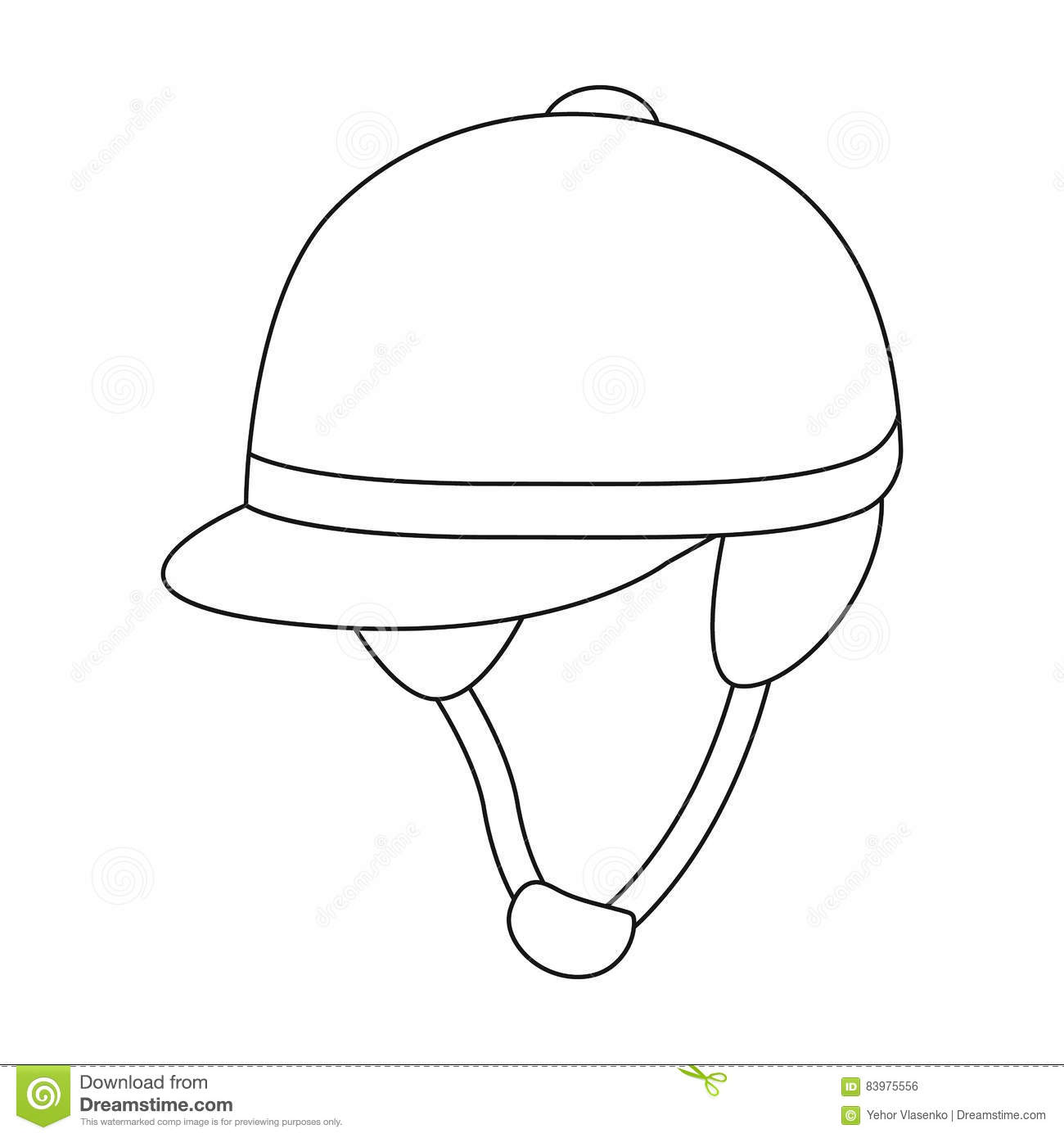 Horse Riding Helmet Stock Photos Illustrations And Vector