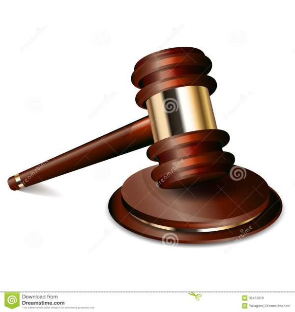 Judge Gavel Stock Vector. Illustration Of Icon Guilt
