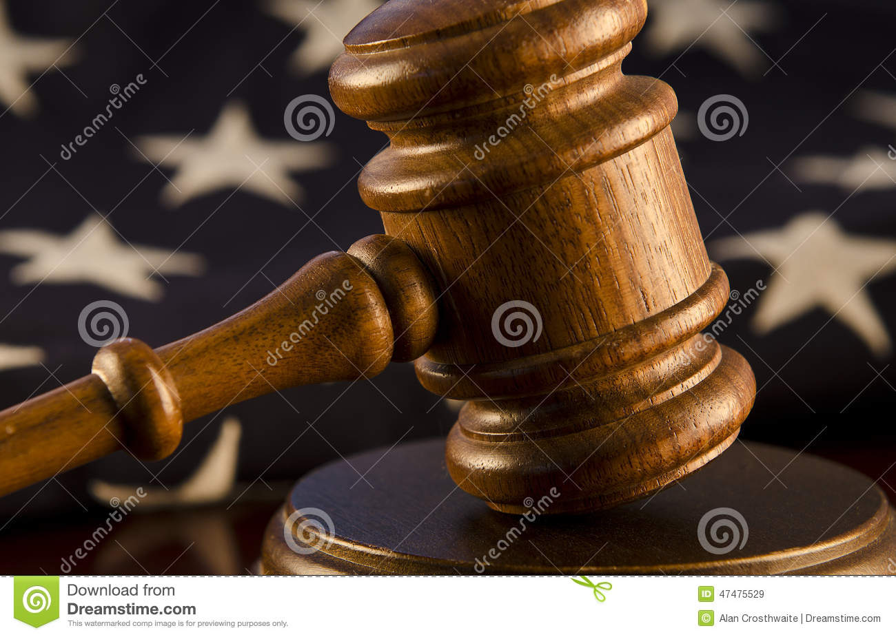 Judicial Branch Of Government Stock Image