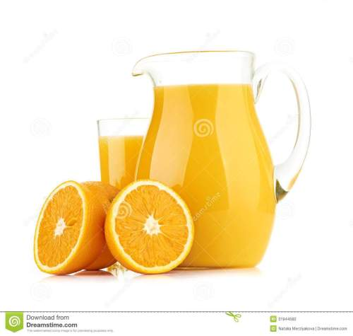 small resolution of jug glass of orange juice and orange fruits