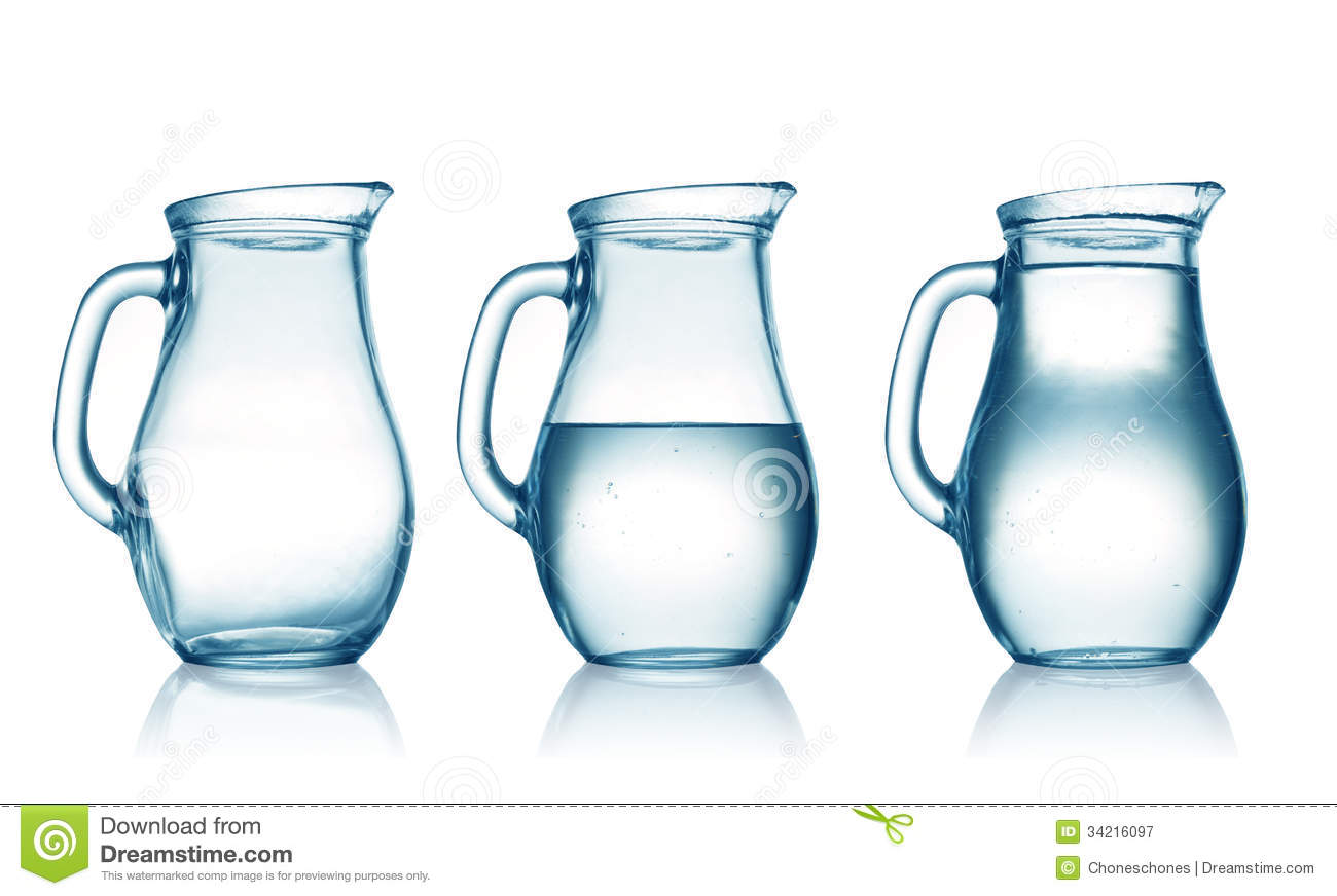 Jugs Royalty Free Stock Photography