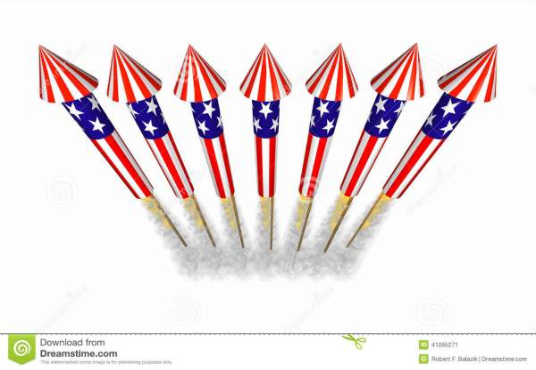 july 4th bottle rocket fireworks
