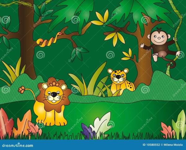 Free Jungle Clip Art