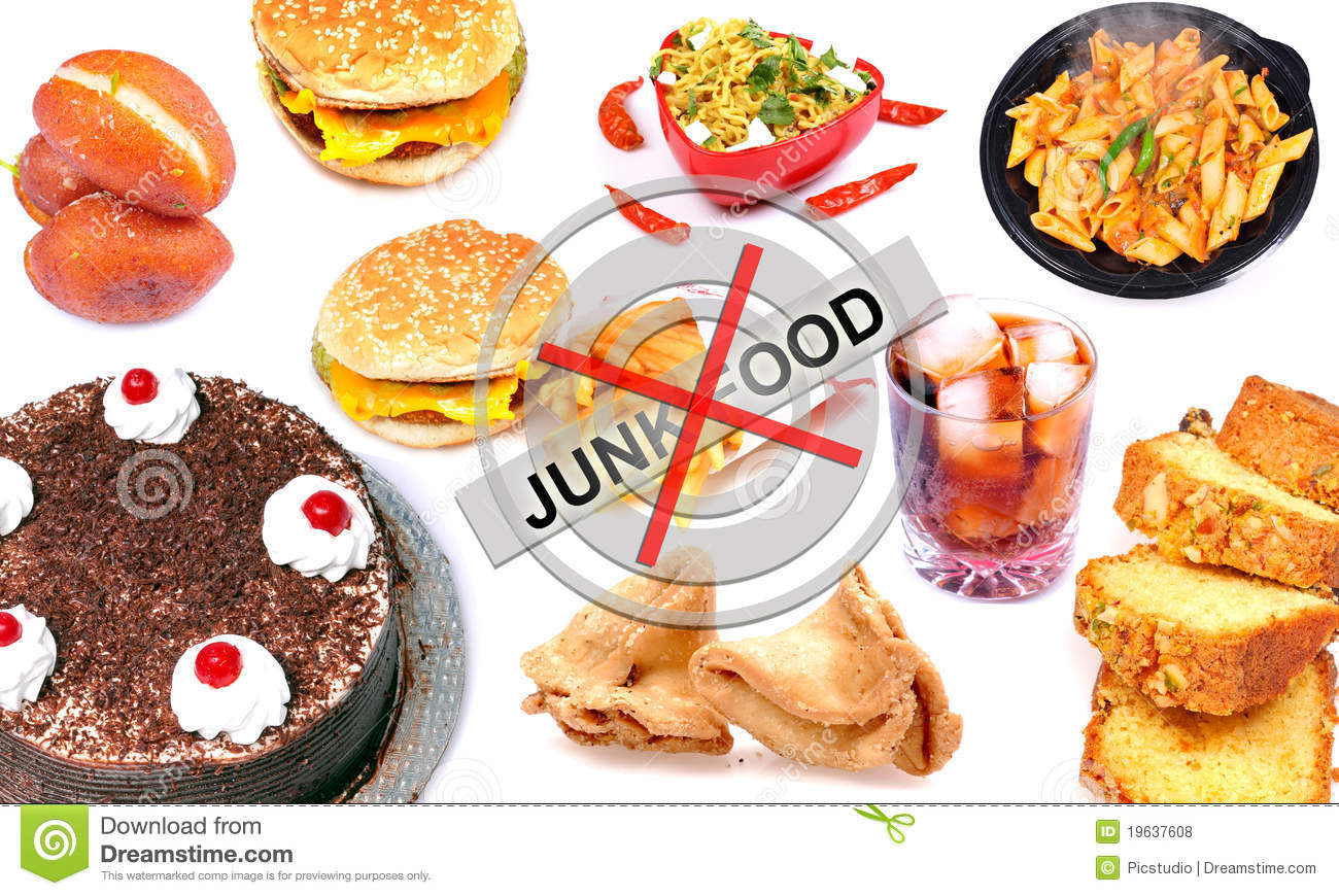 Junk Food Stock Photo Image Of Calories Fried Soft
