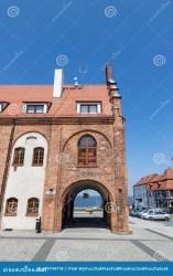 kamien poland town pomorski pomerania zachodniopomorskie rynek historic hall june