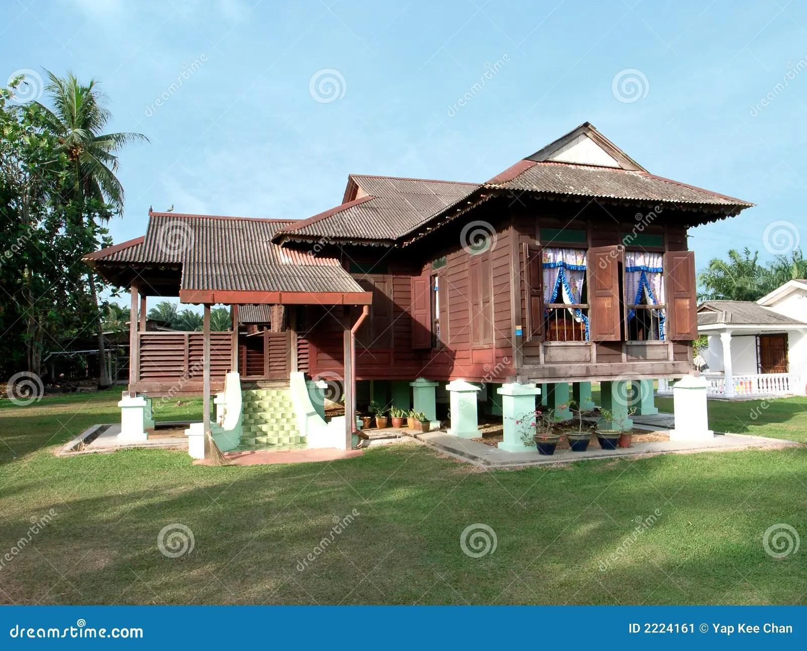 Kampung House Stock Image  Image 2224161