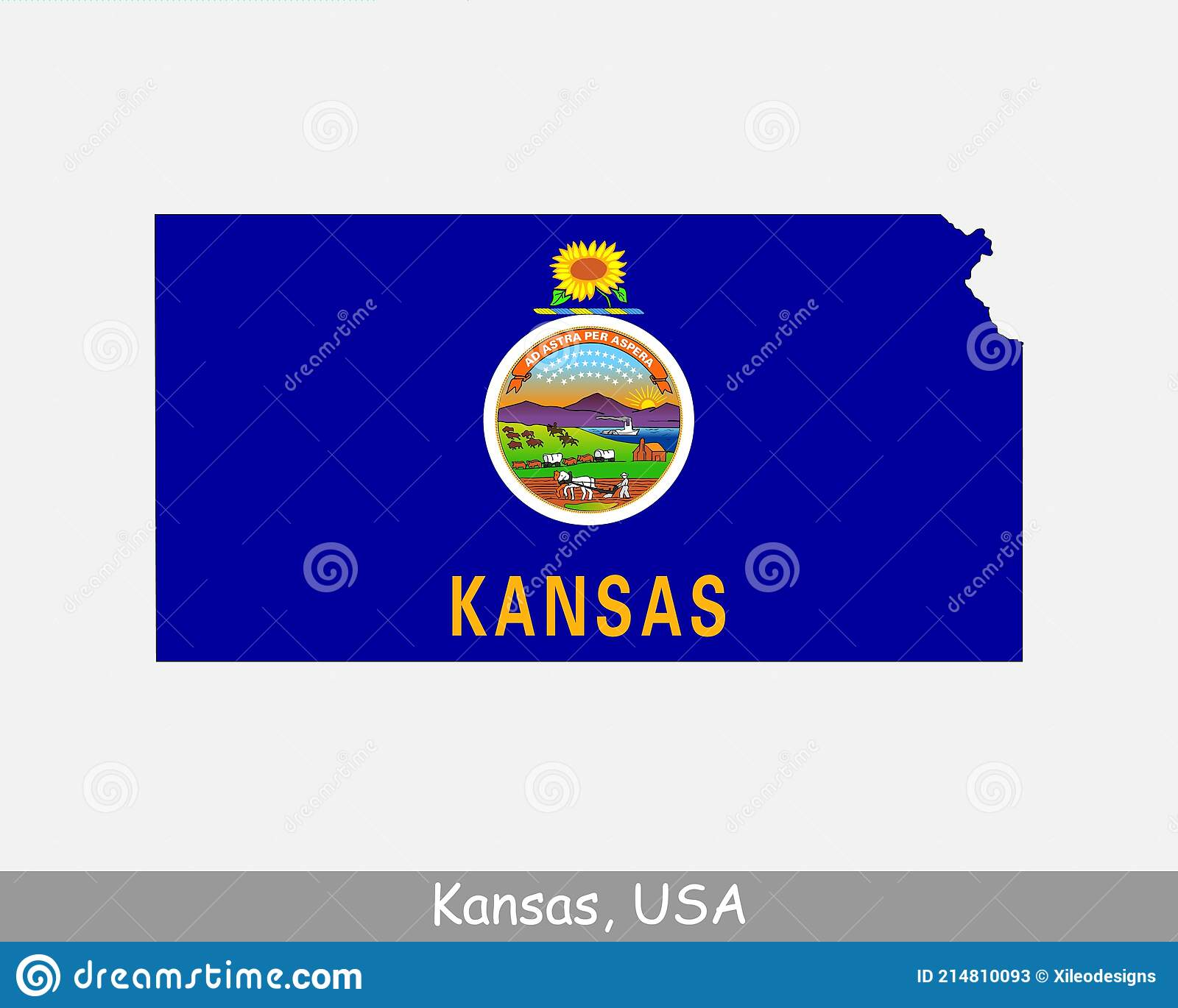 82,278 sq mi (213,100 sq km). Kansas Map Flag Map Of Ks Usa With The State Flag Isolated On White Background United States America American United States Stock Vector Illustration Of Flag Cartography 214810093