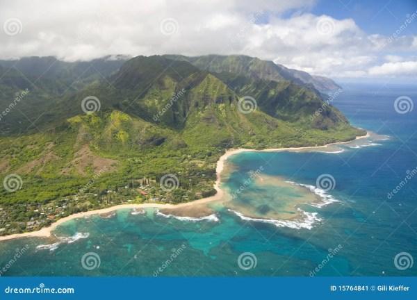 Aerial View of Kauai Hawaii