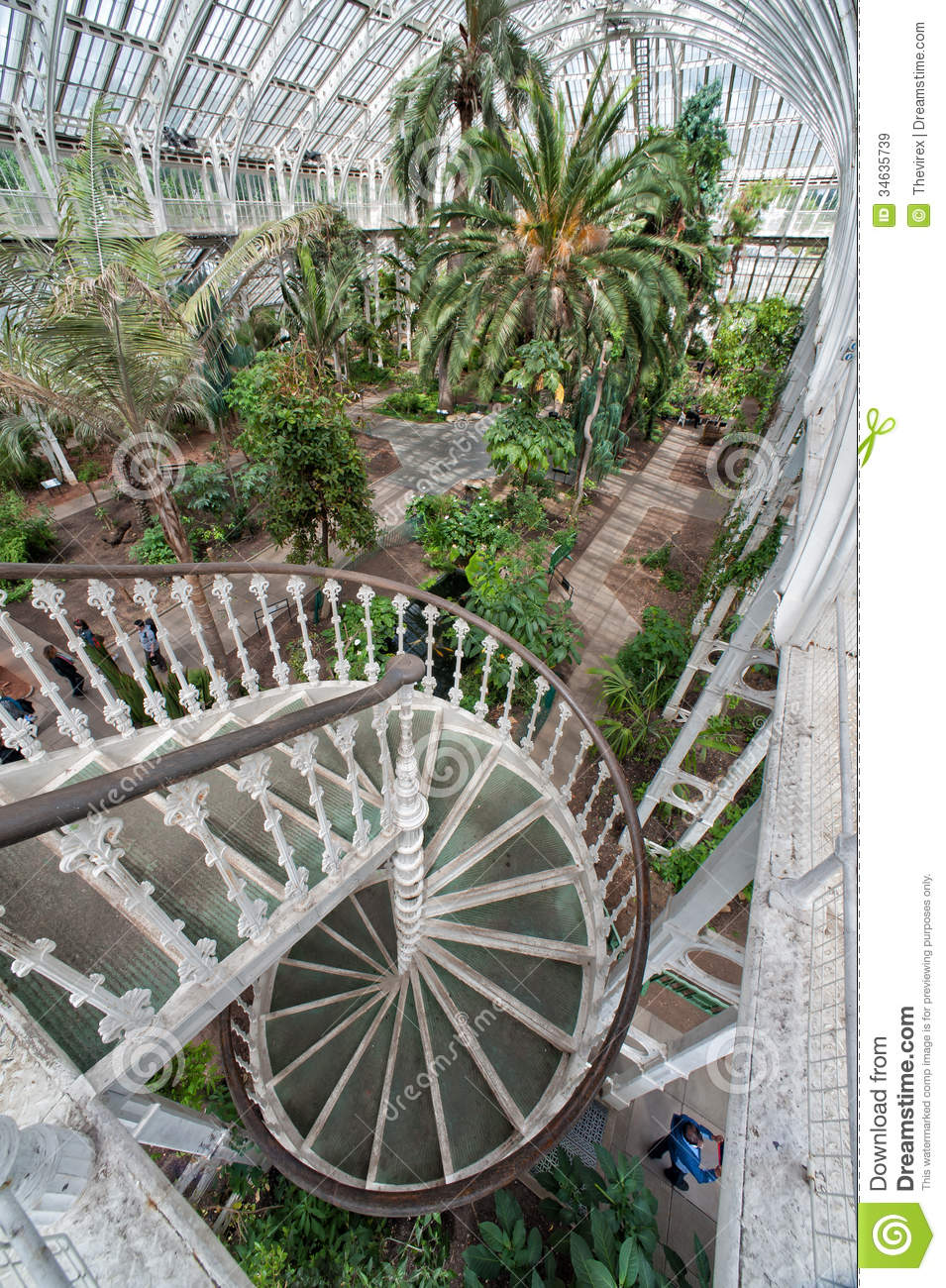 Kew Gardens London Uk Editorial Stock Image Image Of