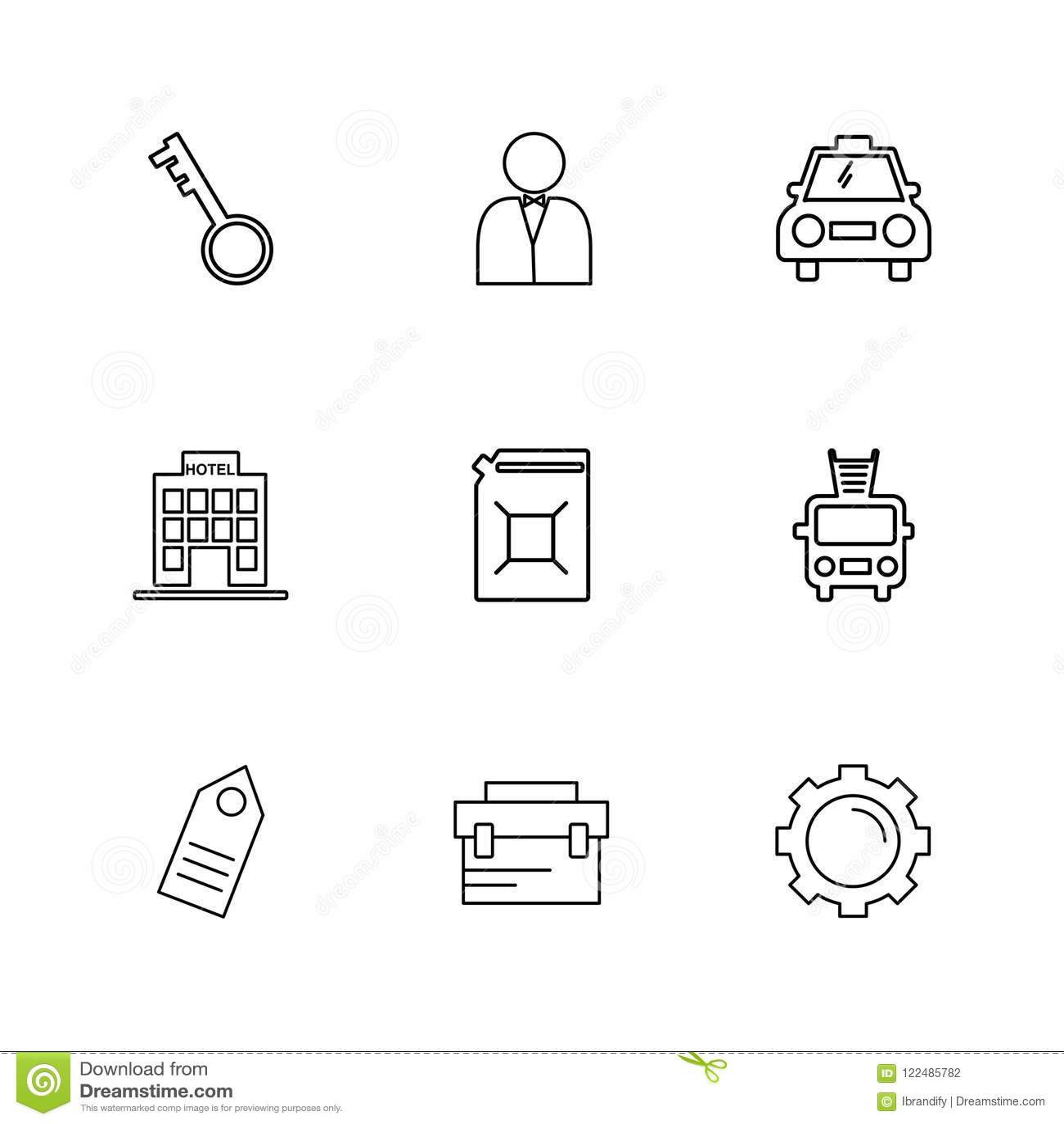 hight resolution of key fire truck setting gear tag transport travel tkey