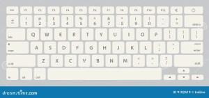Keyboard Illustration Royalty Free Stock Images  Image
