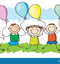 kids balloons stock illustrations 6 069 kids balloons stock illustrations vectors clipart dreamstime [ 1300 x 790 Pixel ]