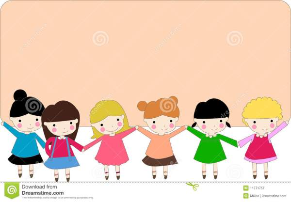 Kids And Banner Stock Vector. Illustration Of Child - 11771757