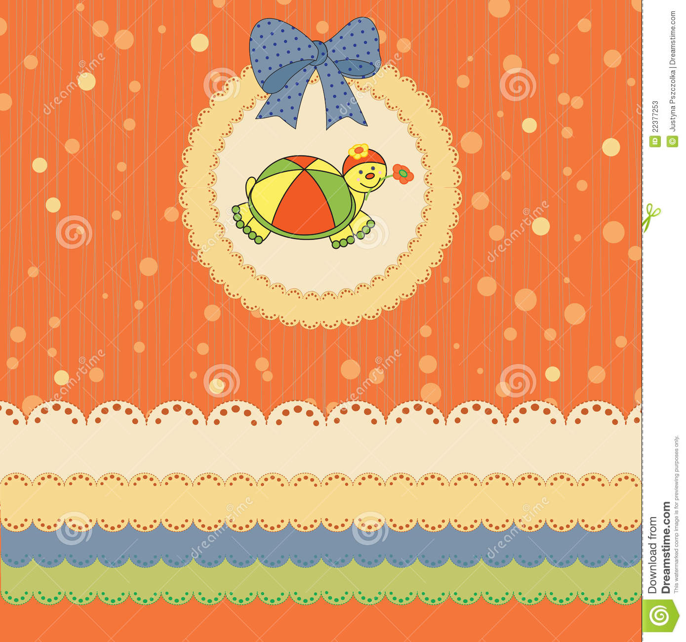 Kids Card Stock Vector Image Of Event Butterfly Holiday