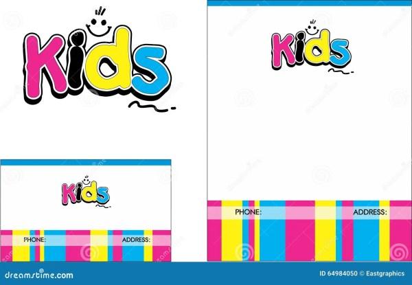 Kids Learning Center School Education Logo Business Card