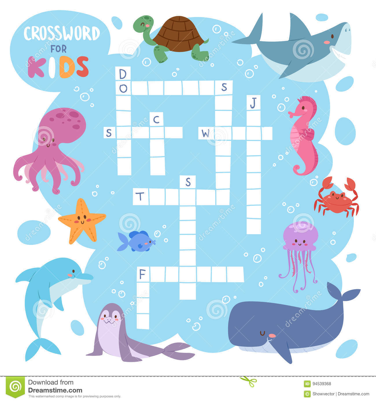 Underwater Animals Worksheet