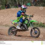 Kids Motocross Fuse Racing Thailand 2015 Editorial Photography Image Of Dust Power 59818077