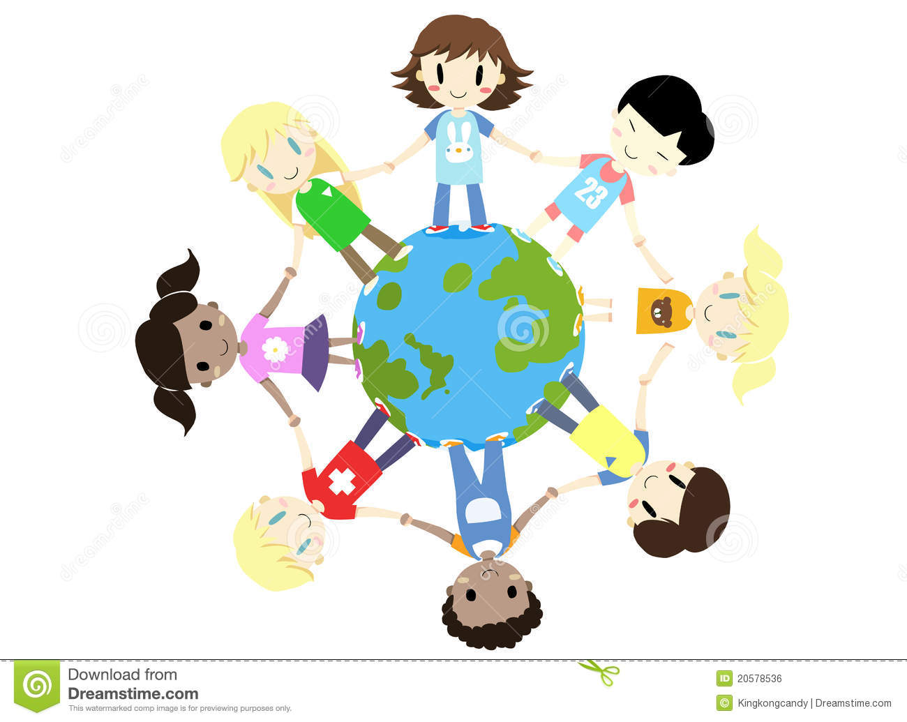 Kids One World One Family