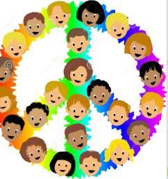 kids peace sign eps [ 1387 x 1300 Pixel ]
