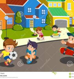 neighborhood street clip art stock illustrations 310 neighborhood street clip art stock illustrations vectors clipart dreamstime [ 1300 x 957 Pixel ]