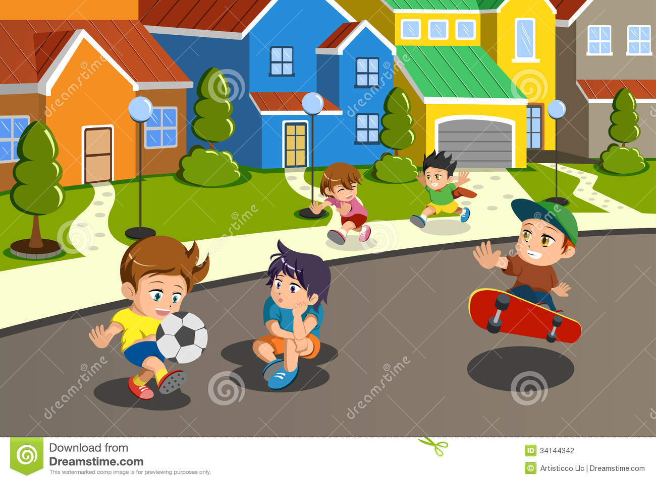 hight resolution of neighborhood street clip art stock illustrations 310 neighborhood street clip art stock illustrations vectors clipart dreamstime