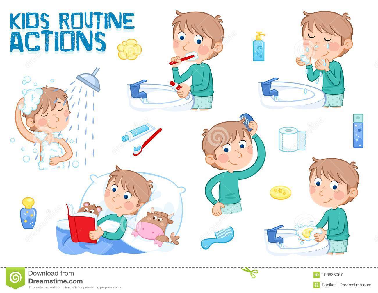 Kids And Daily Routine