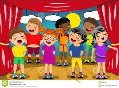 Image result for students on stage clip art