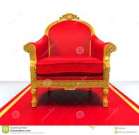 King Throne Chair stock illustration. Image of cute ...