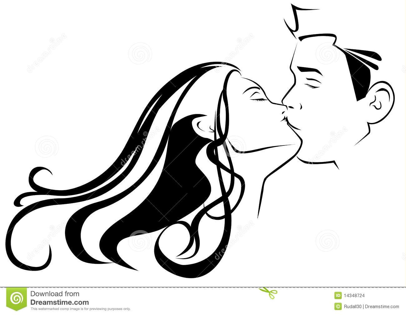 Kissing Stock Images