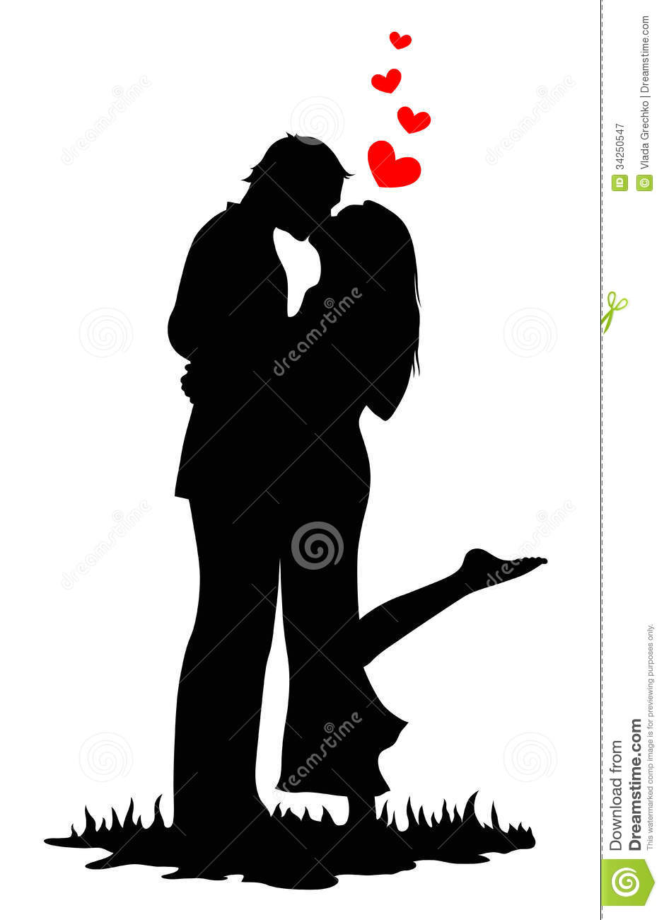 Kissing Lovers Royalty Free Stock Photography  Image 34250547