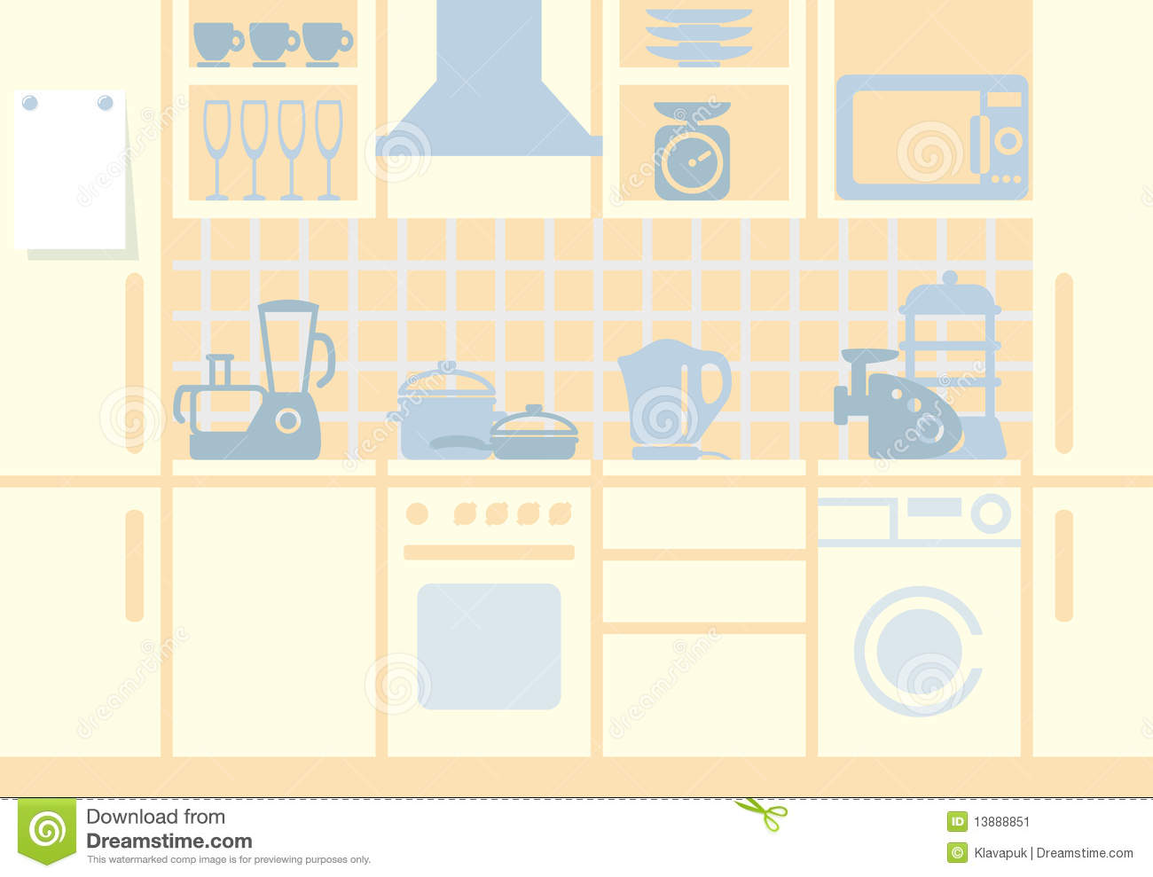 kitchen food preparation table diy outdoor kitchens on a budget background stock image - image: 13888851
