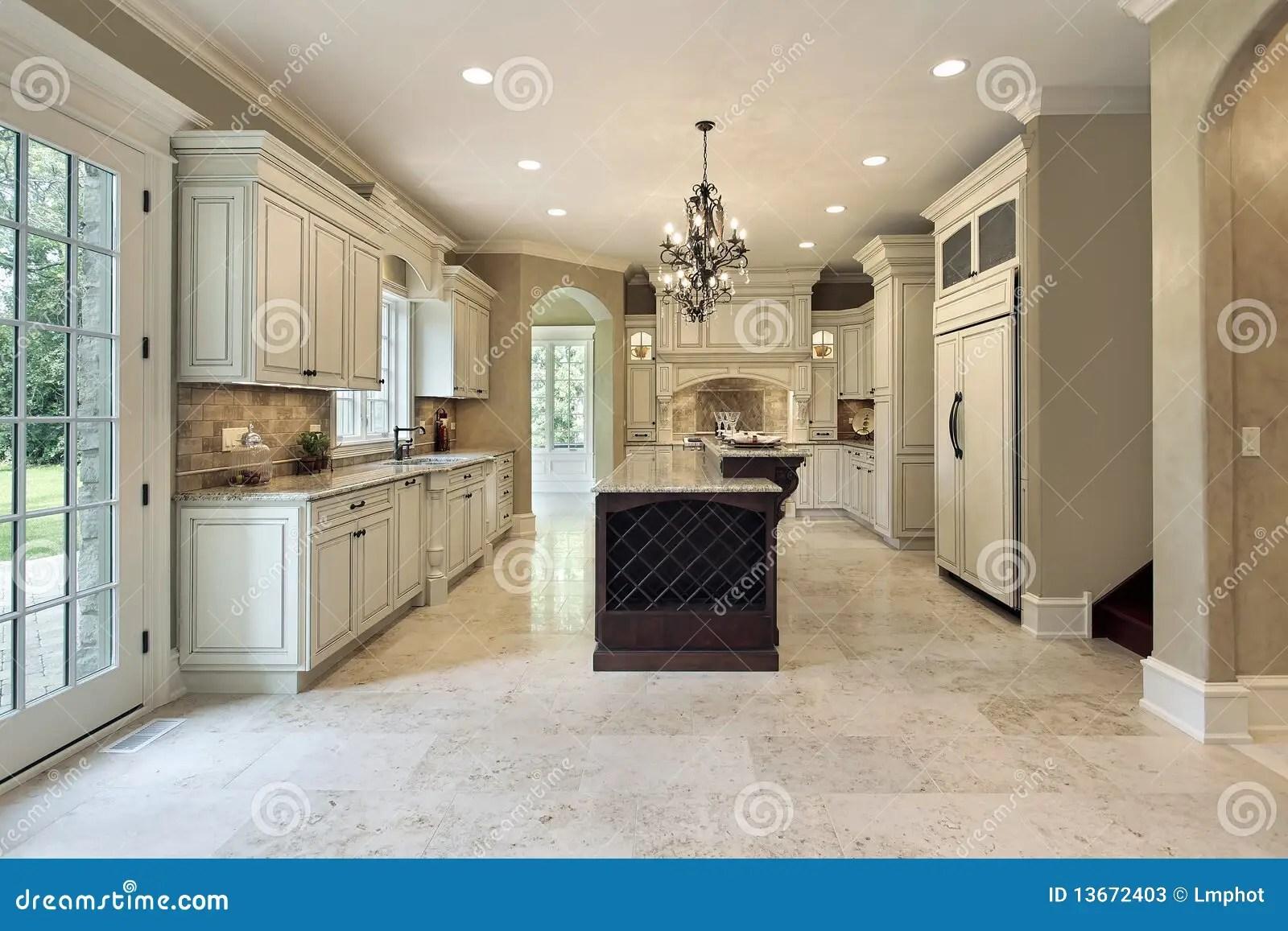 kitchen island lighting fixtures glass backsplash with double deck stock photos - image: 13672403
