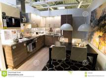 Kitchen In Furniture Store Ikea Editorial