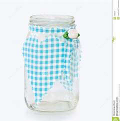 Decorative Glass Jars For Kitchen And Baths Jar With Handmade Heart Stock
