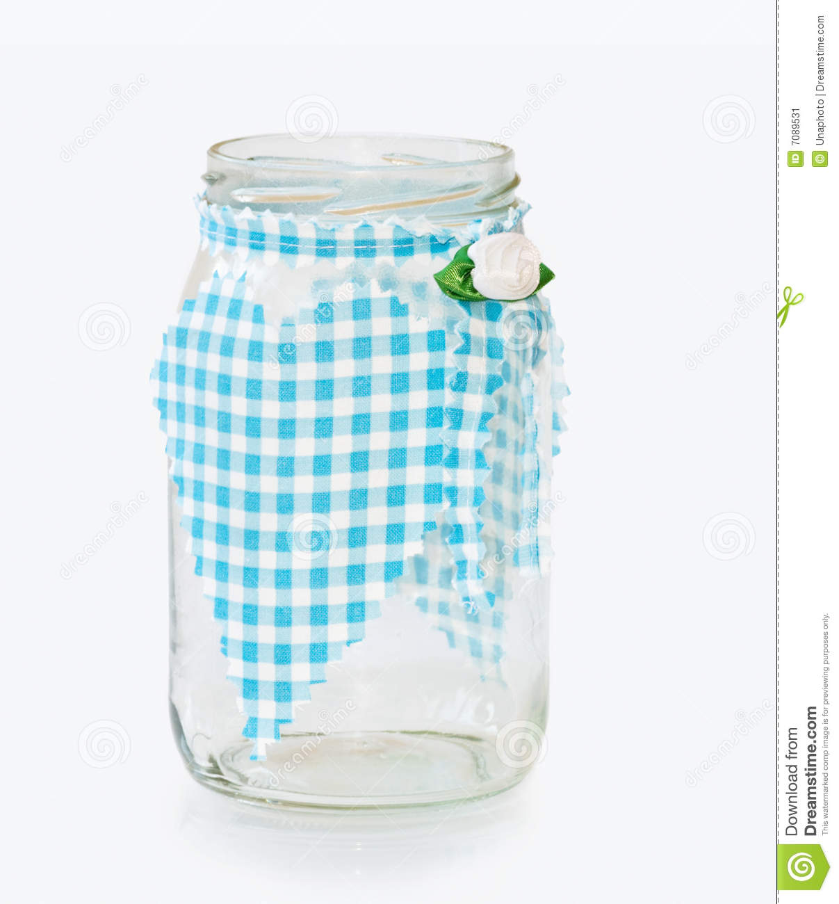 decorative glass jars for kitchen tool jar with handmade heart stock