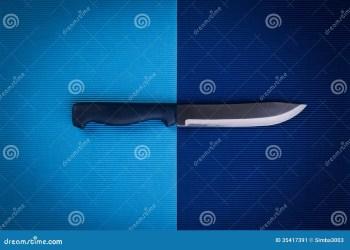 knife kitchen card