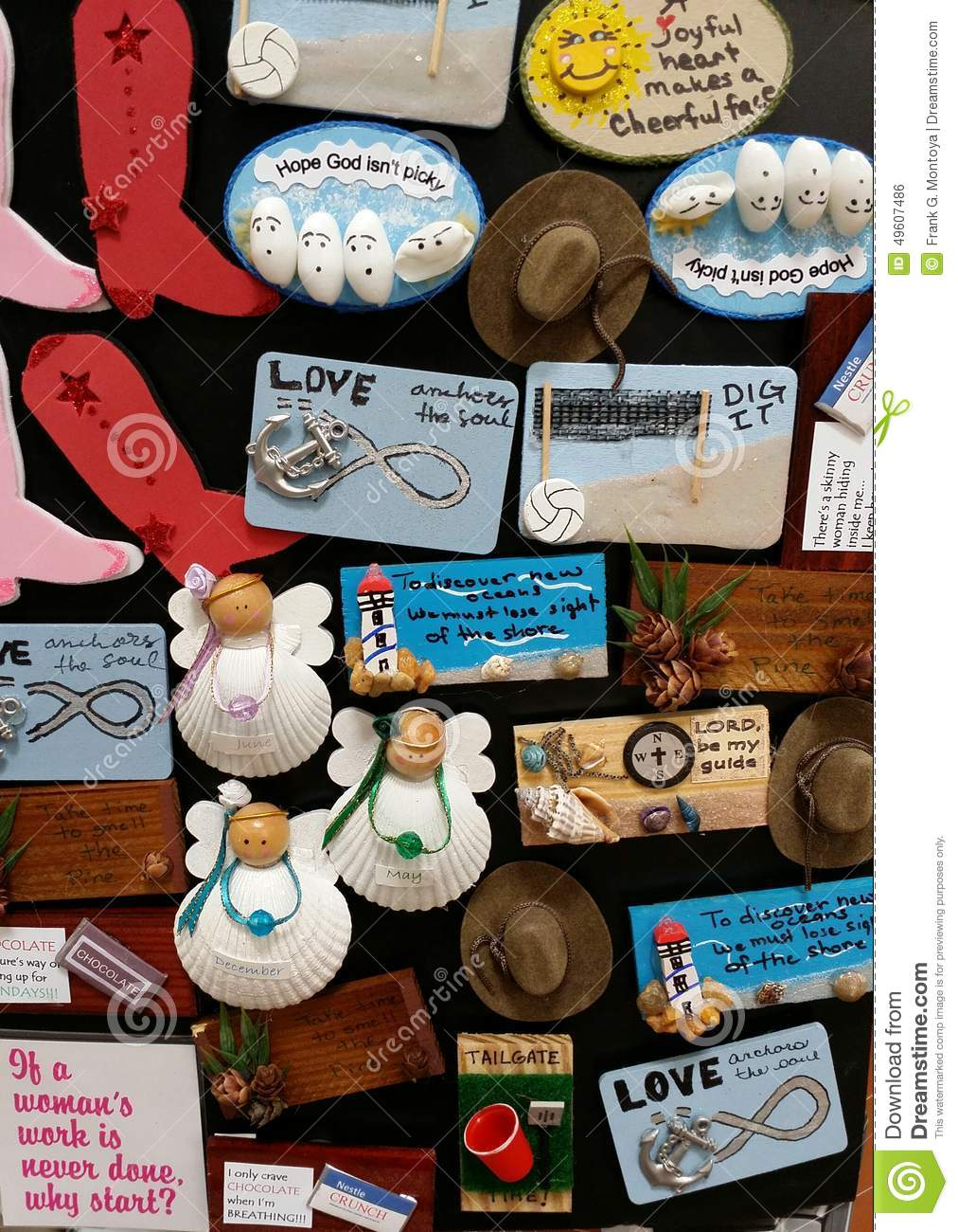 kitchen magnets danver outdoor kitchens editorial photo image of board crafts 49607486