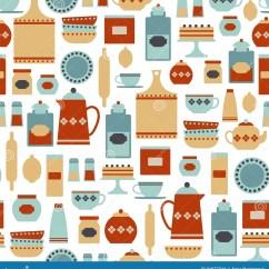 Kitchen Wallpaper Patterns Window Decor Pattern Royalty Free Stock Image 31977316