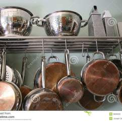 Kitchen Pots And Pans Restaining Cabinets Stock Image Of Closeup 3626933 Cooking Utensils Photographed In Natural Light