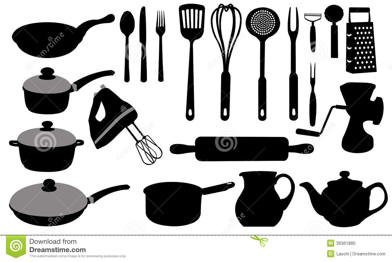 kitchen tools tile designs stock vector illustration of 39361880