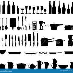 Kitchen Utensil Light Fixtures For Stock Vector Illustration Of Group Food 15617227