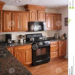 Modern Wood Chair Plans Hanging Ikea Kitchen Cabinets Black Stove Stock Photo - Image: 4585310