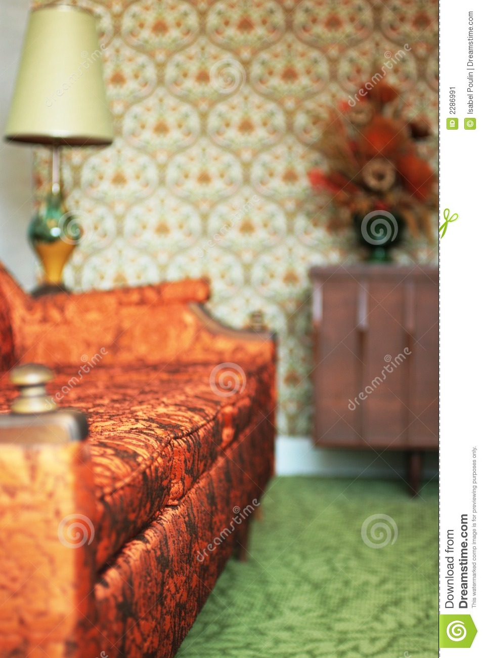 kitschy living room mixing furniture styles kitsch stock image of 2286991