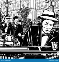 Klavier-Jazz Band In Einer Gaststtte Stockbilder - Bild ...