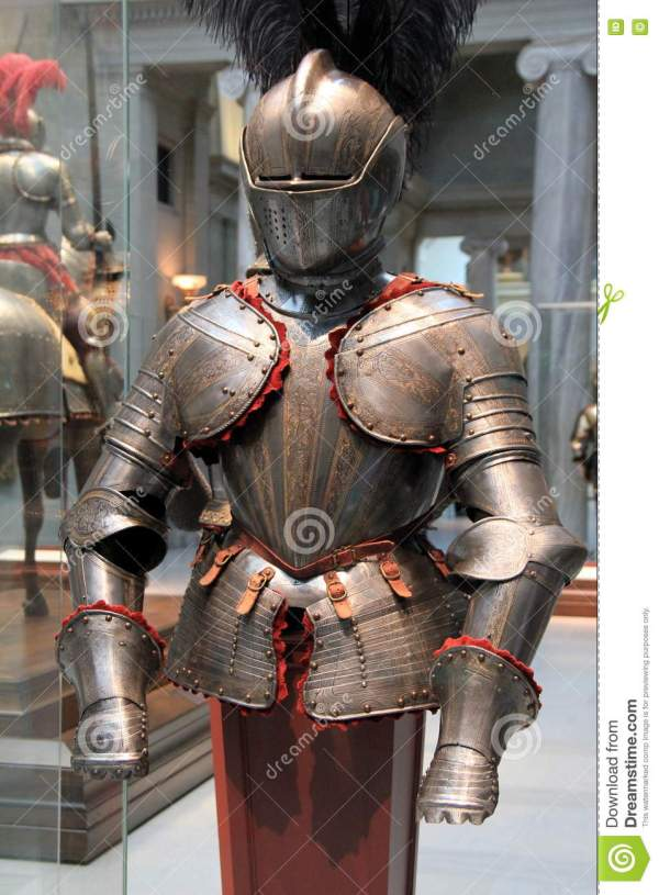 Knight' Armor Display Cleveland Art Museum Ohio 2016