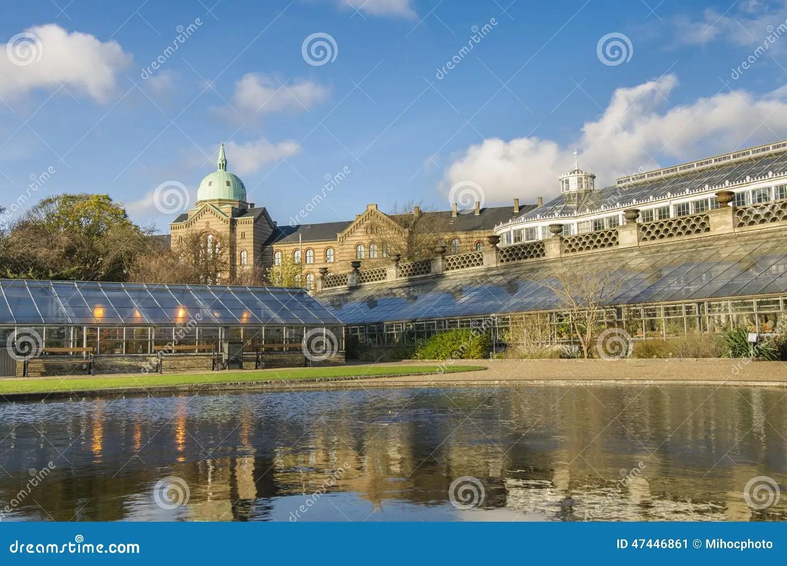 Kopenhagen Botanischer Garten Stockfoto Bild 47446861
