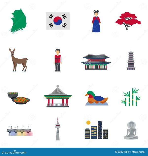 Korean Symbol Clip Art