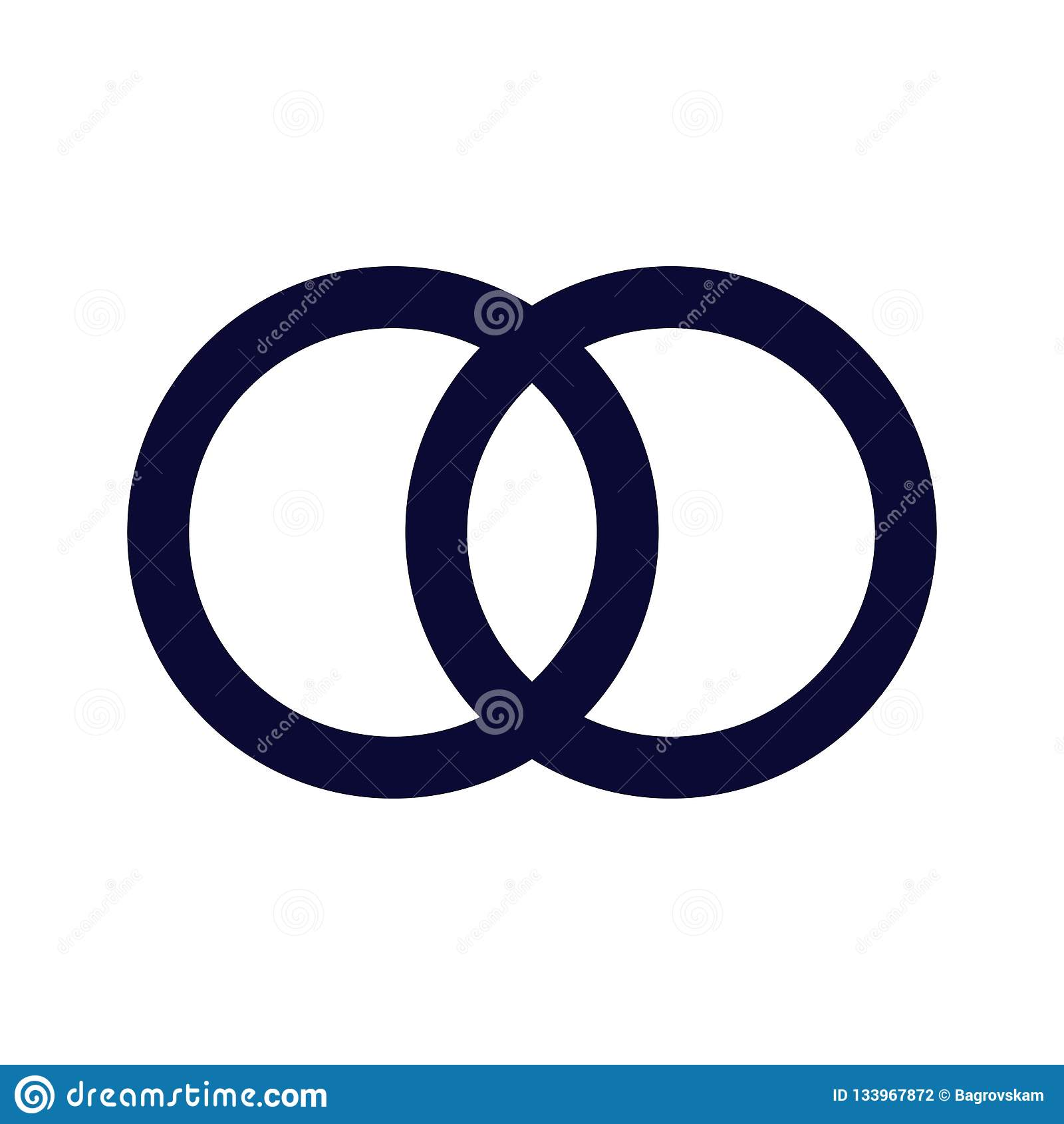 symbole de gland illustration plate