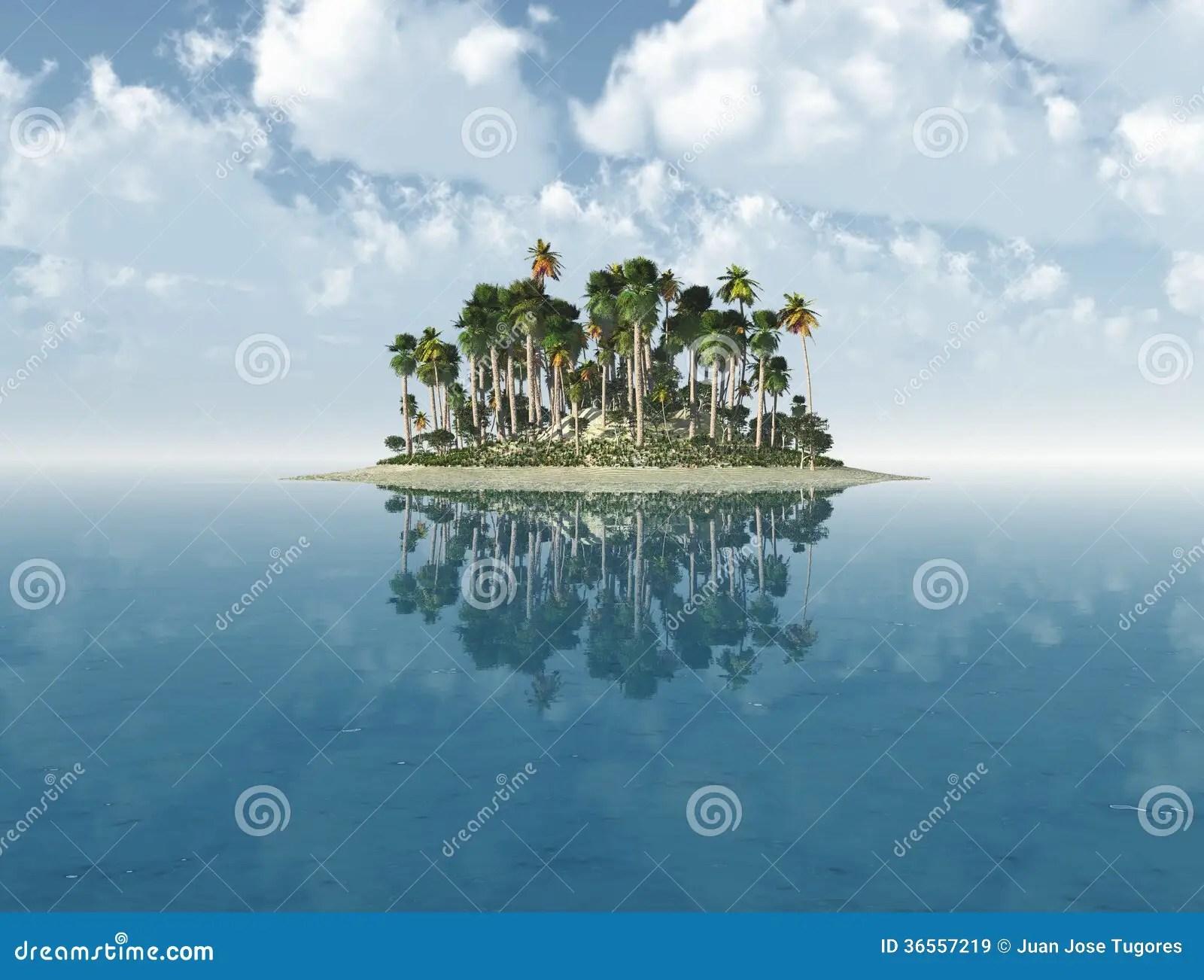 Lisola deserta immagine stock Immagine di turismo paesaggio  36557219